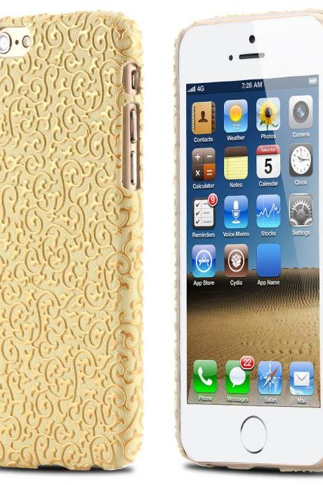 New Floral Case - IPhone 6 & IPhone 6s - GOLD
