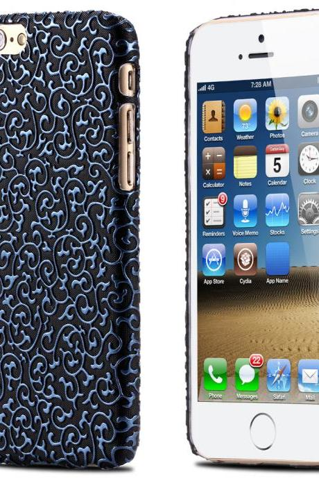 Floral Case - iPhone 6 & iPhone 6s - BLUE
