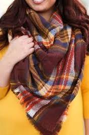 Winter blanket scarf