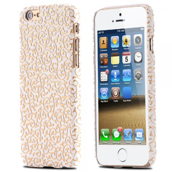 New Floral Case - IPhone 6 & IPhone 6s - WHITE