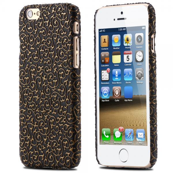 New Floral Case - IPhone 6 & IPhone 6s - BLACK